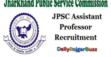Jharkhand PSC Recruitment