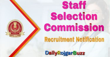 Multi Tasking Staff Staff Selection Commission Notification