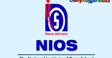 NIOS Recruitment