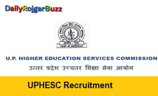 UPHESC Recruitment