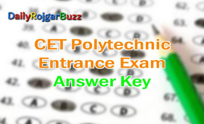 Delhi CET Polytechnic Answer Key
