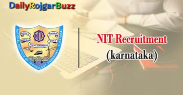 NIT Recruitment
