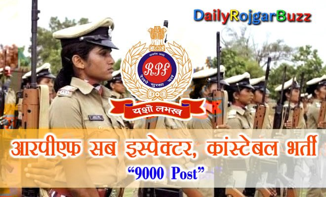 RPF SI Constable Recruitment