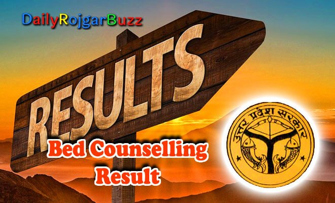 UP BEd Counselling Result