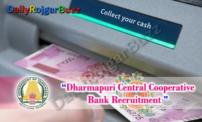 Dharmapuri Central Cooperative Bank Recruitment