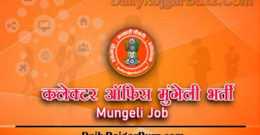 Collector Office Mungeli Recruitment