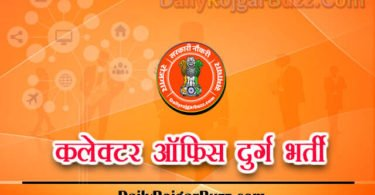 Collector Office Durg Recruitment